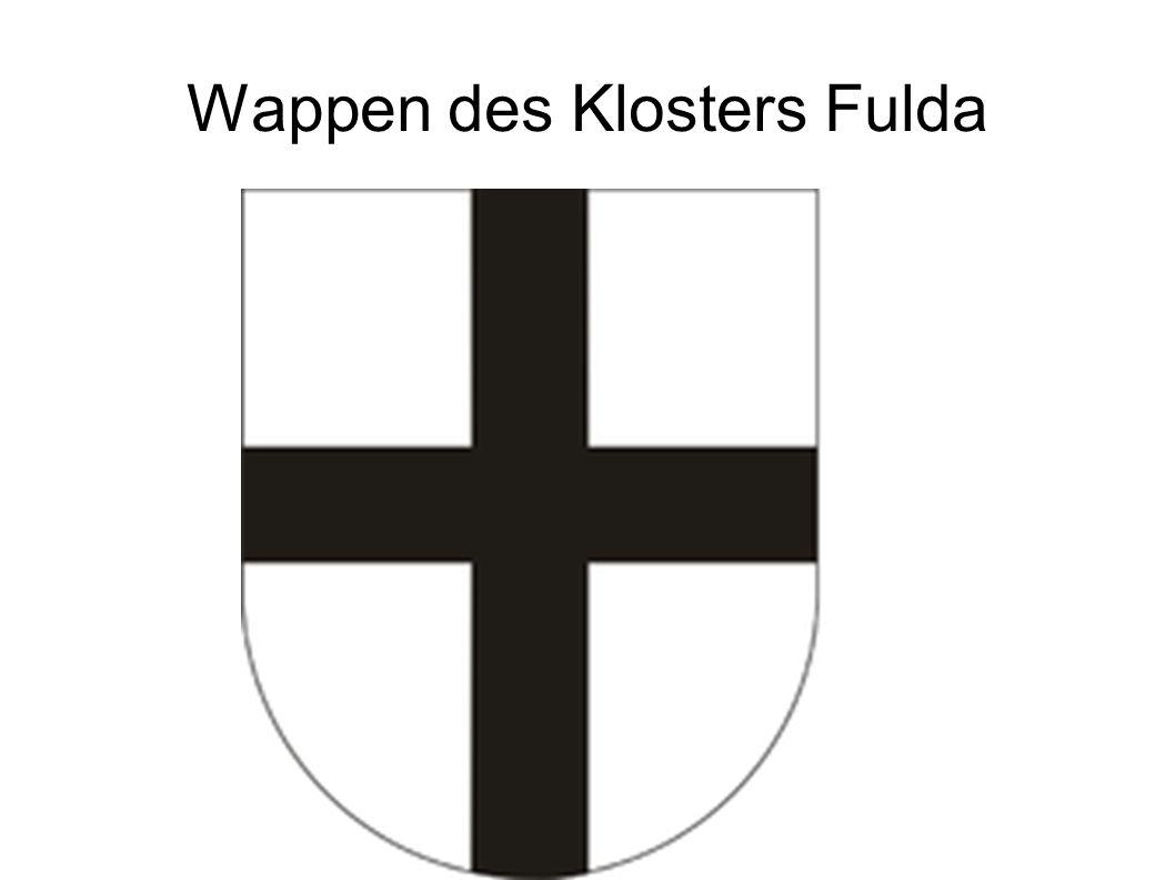 Wappen des Klosters Fulda