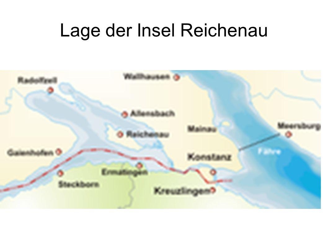 Lage der Insel Reichenau