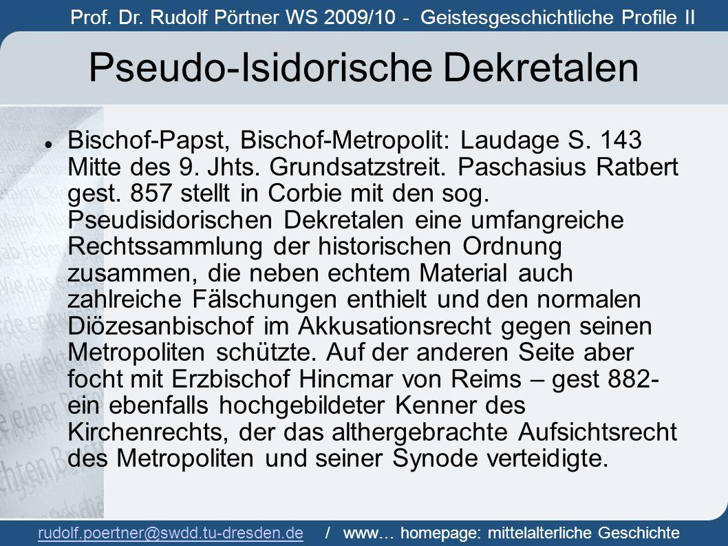 Pseudo-Isidorische Dekretalen
