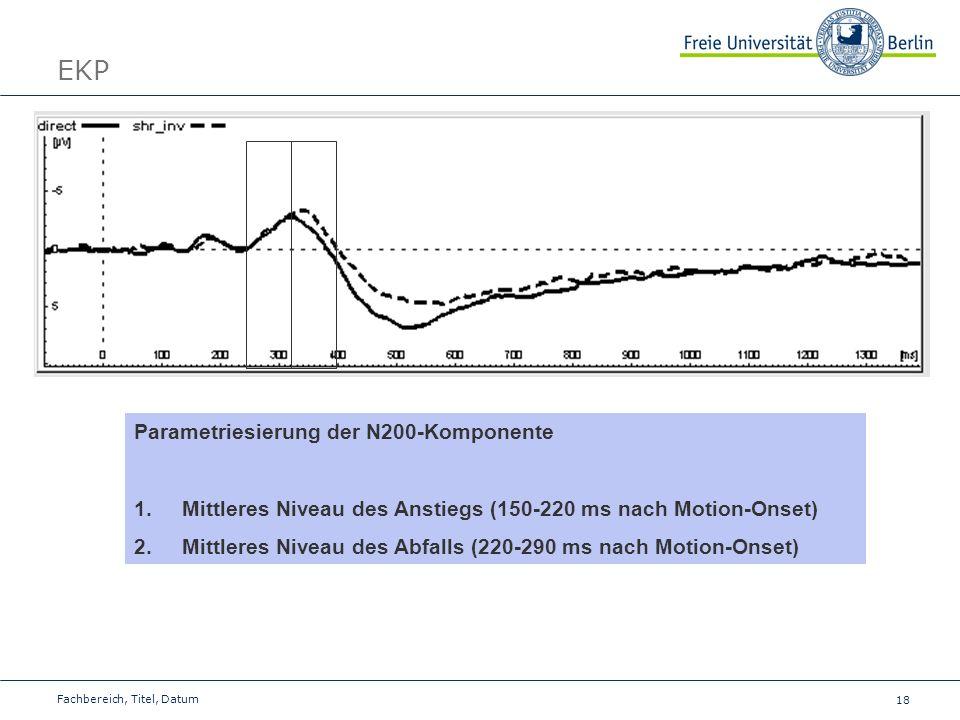 EKP Parametriesierung der N200-Komponente