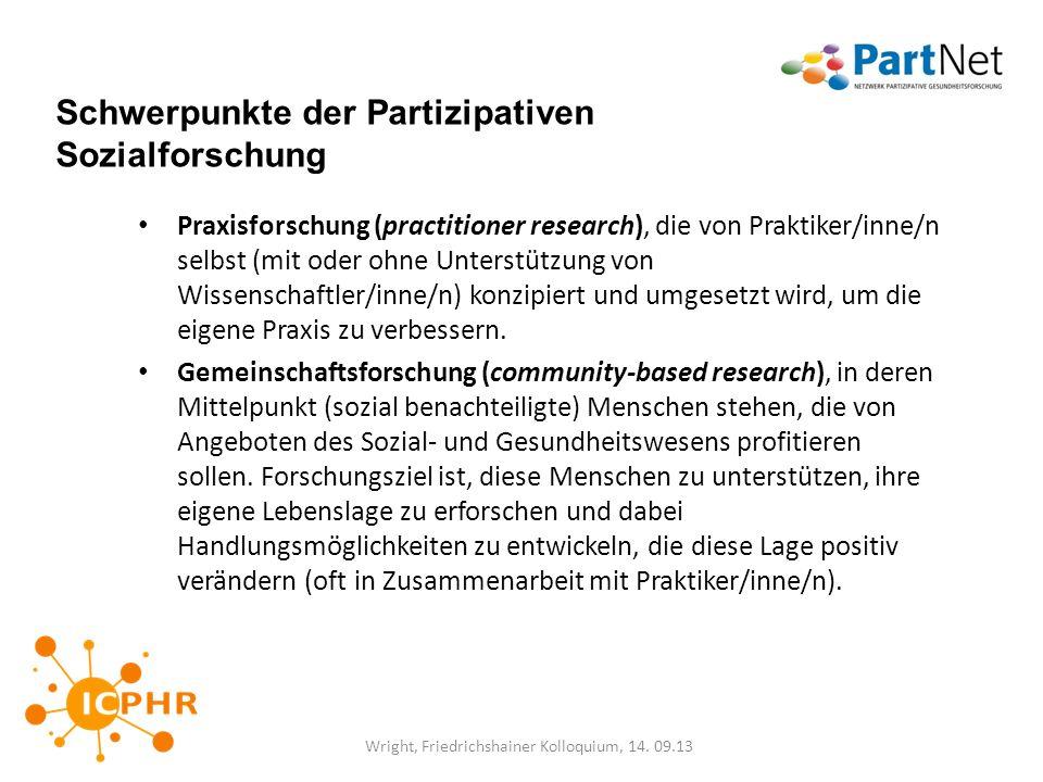 Wright, Friedrichshainer Kolloquium, 14. 09.13