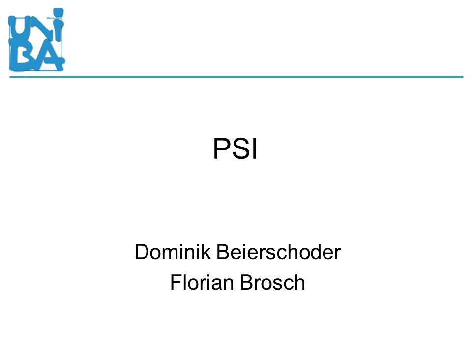 Dominik Beierschoder Florian Brosch