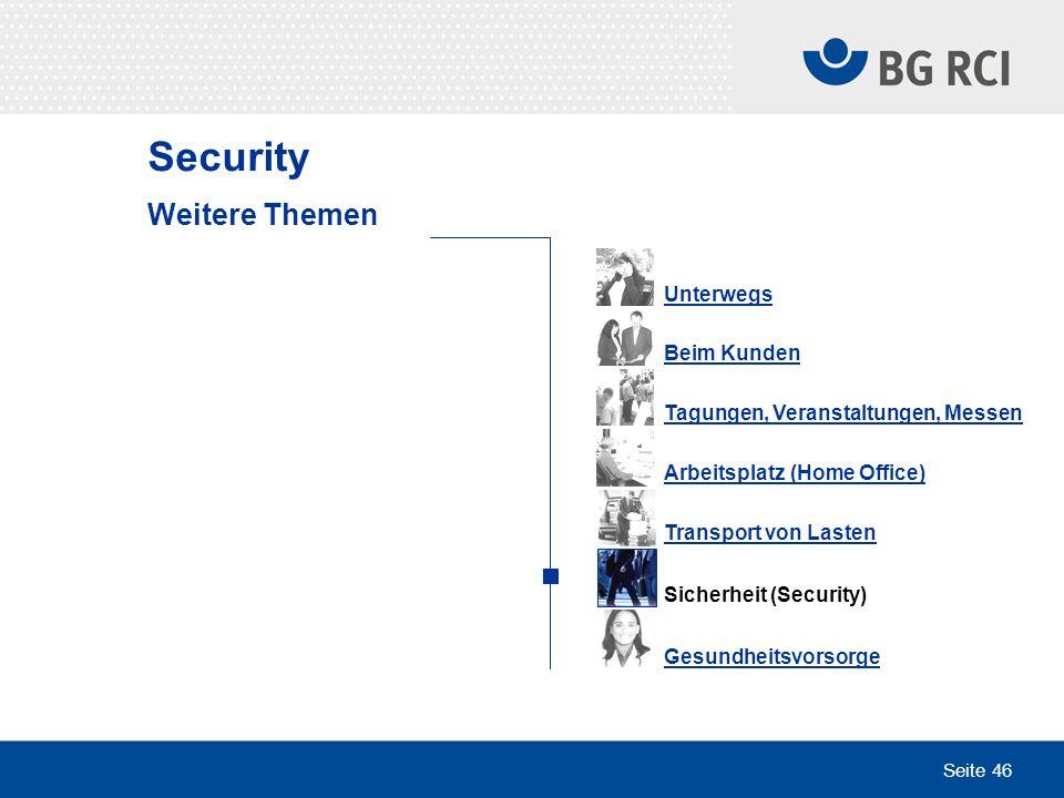 Security Weitere Themen Unterwegs Beim Kunden