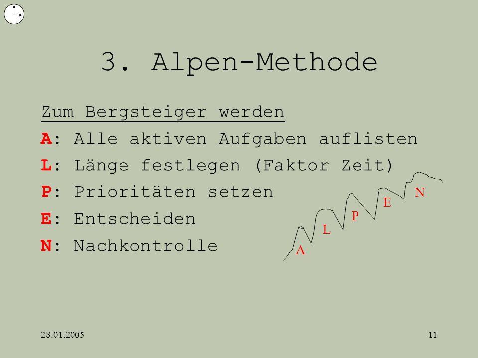 3. Alpen-Methode Zum Bergsteiger werden