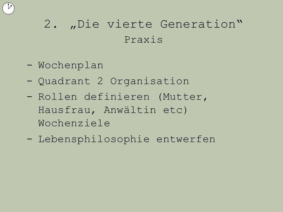 """2. """"Die vierte Generation Praxis"""