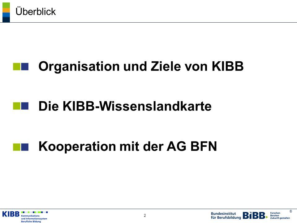Organisation und Ziele von KIBB