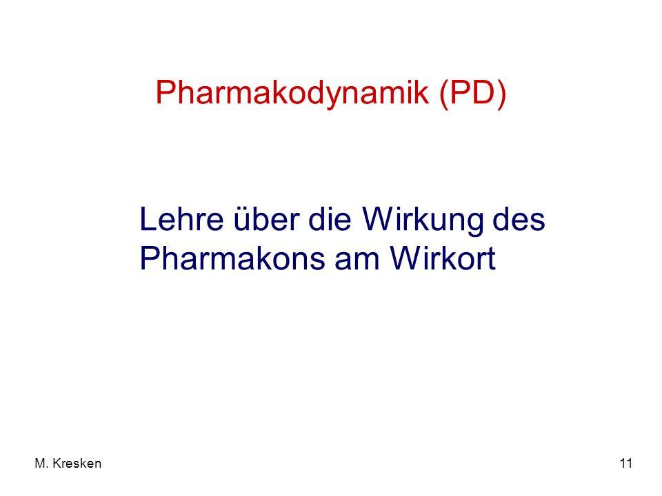 Lehre über die Wirkung des Pharmakons am Wirkort