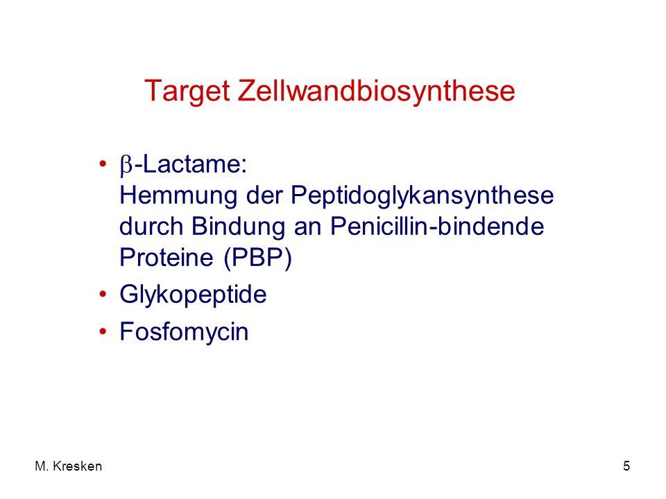 Target Zellwandbiosynthese