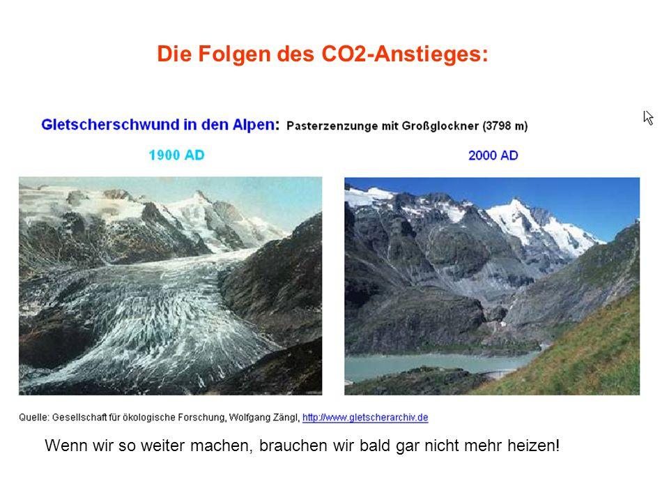 Die Folgen des CO2-Anstieges: