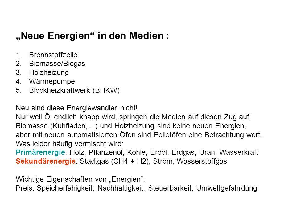 """""""Neue Energien in den Medien :"""