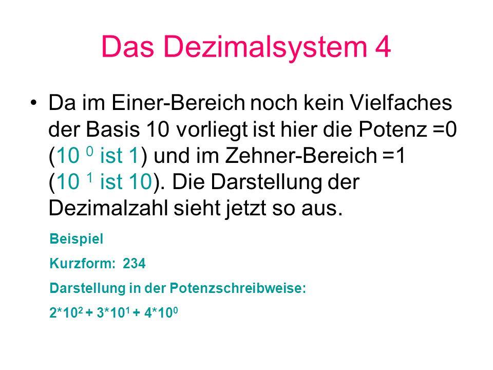 Das Dezimalsystem 4