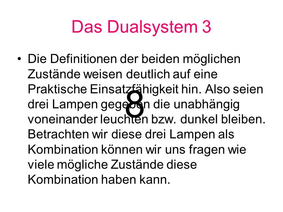 Das Dualsystem 3