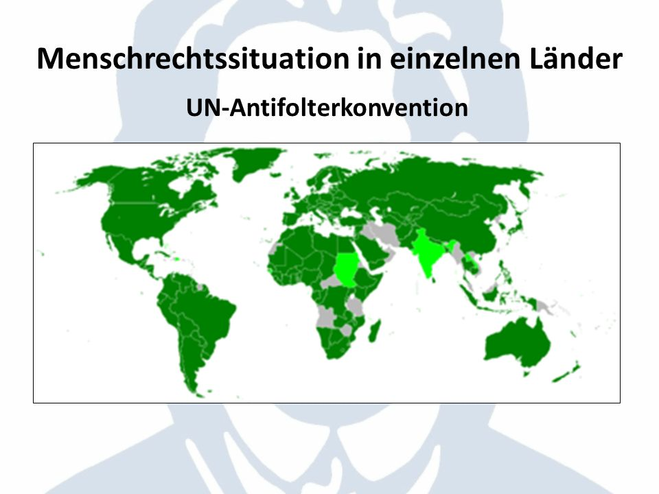 UN-Antifolterkonvention