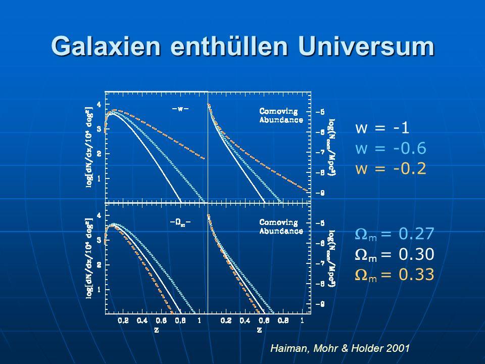 Galaxien enthüllen Universum