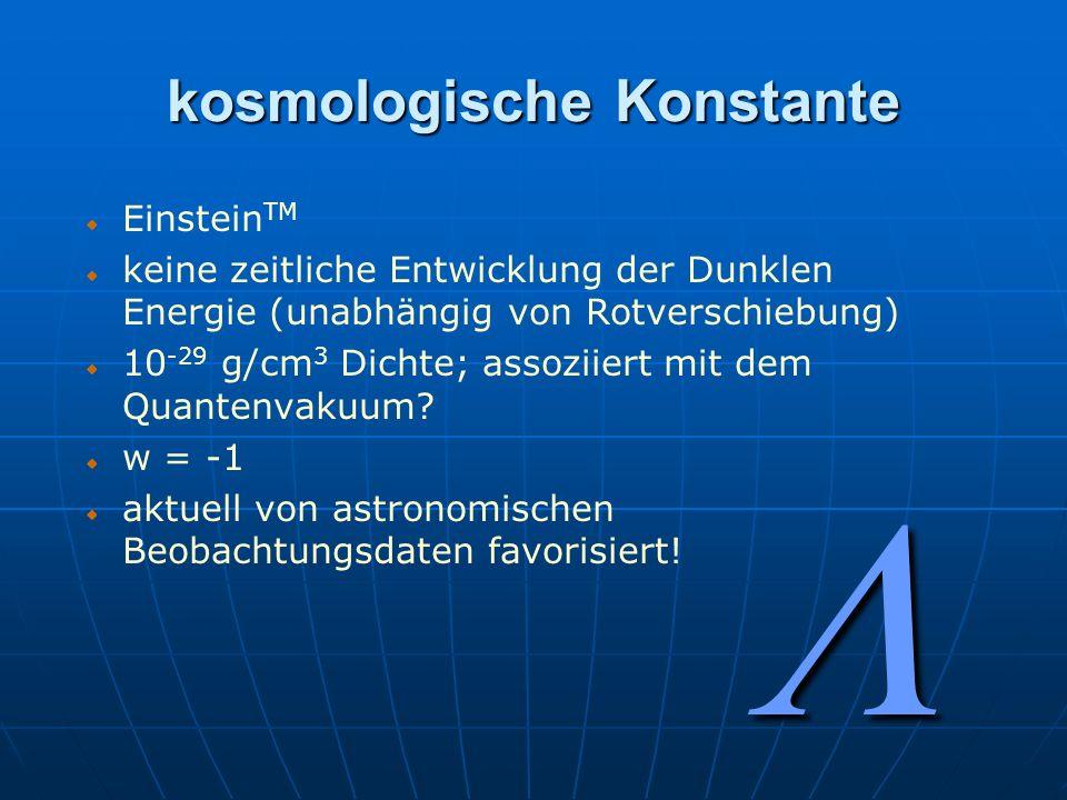 kosmologische Konstante