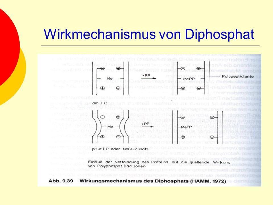 Wirkmechanismus von Diphosphat
