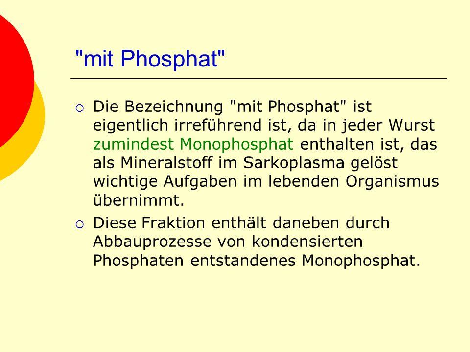 mit Phosphat