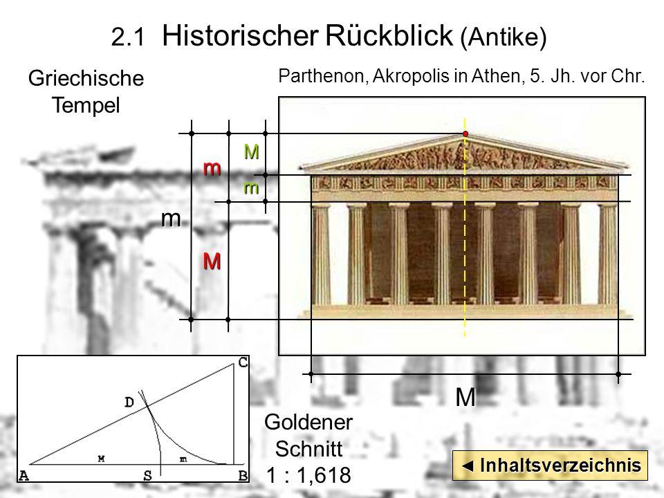 2.1 Historischer Rückblick (Antike)