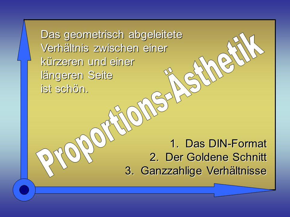 Proportions-Ästhetik