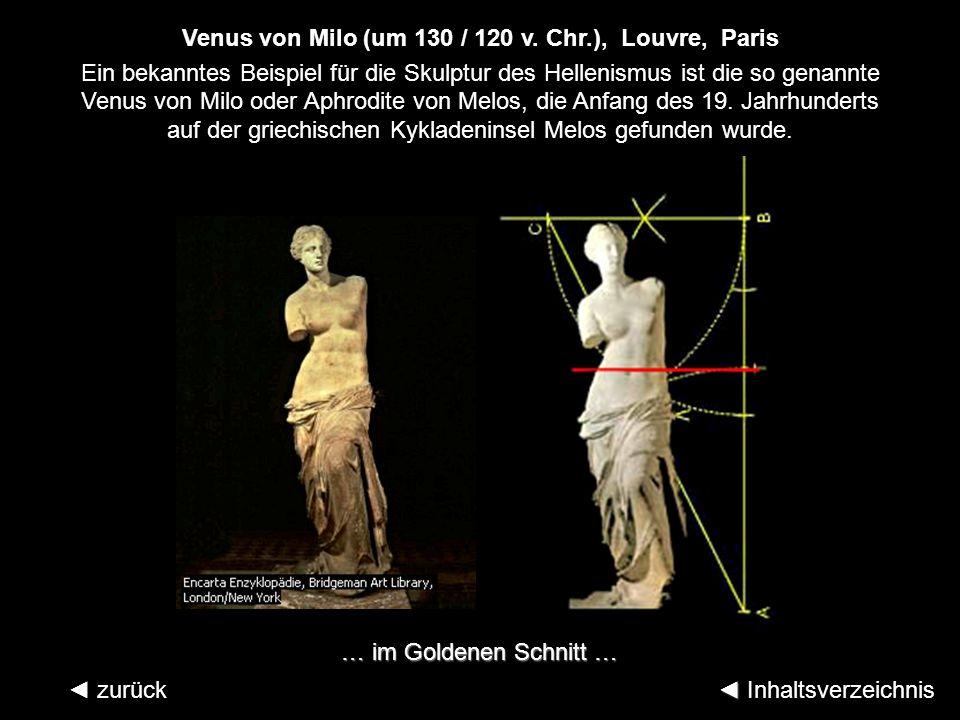 Venus von Milo (um 130 / 120 v. Chr.), Louvre, Paris