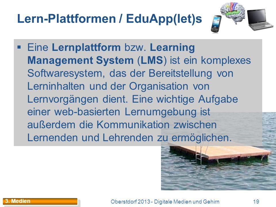 Lern-Plattformen / EduApp(let)s