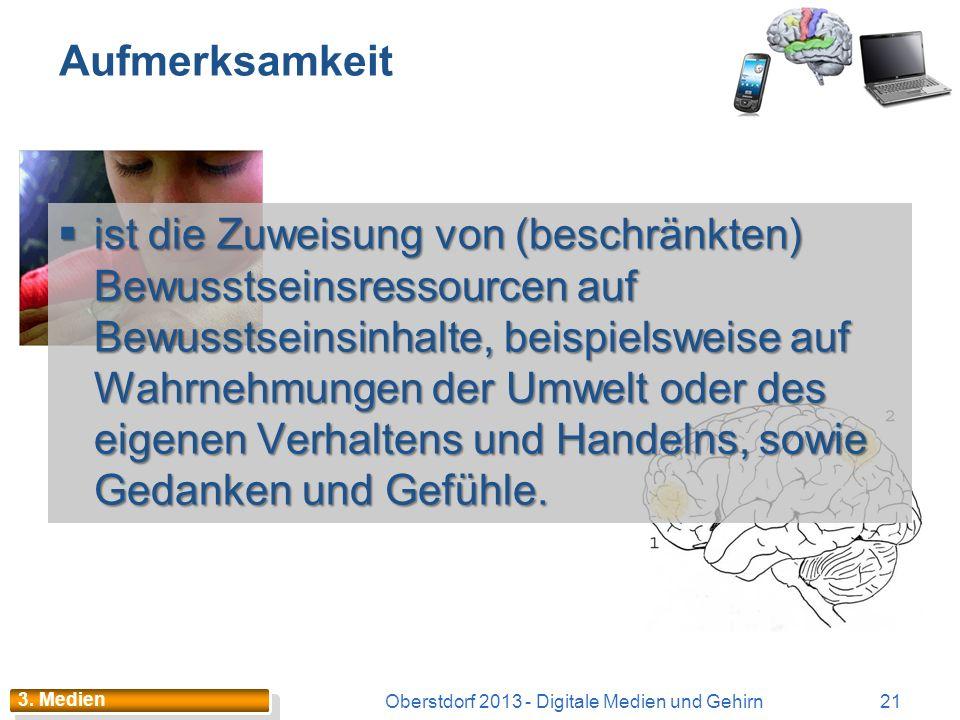 Oberstdorf 2013 - Digitale Medien und Gehirn