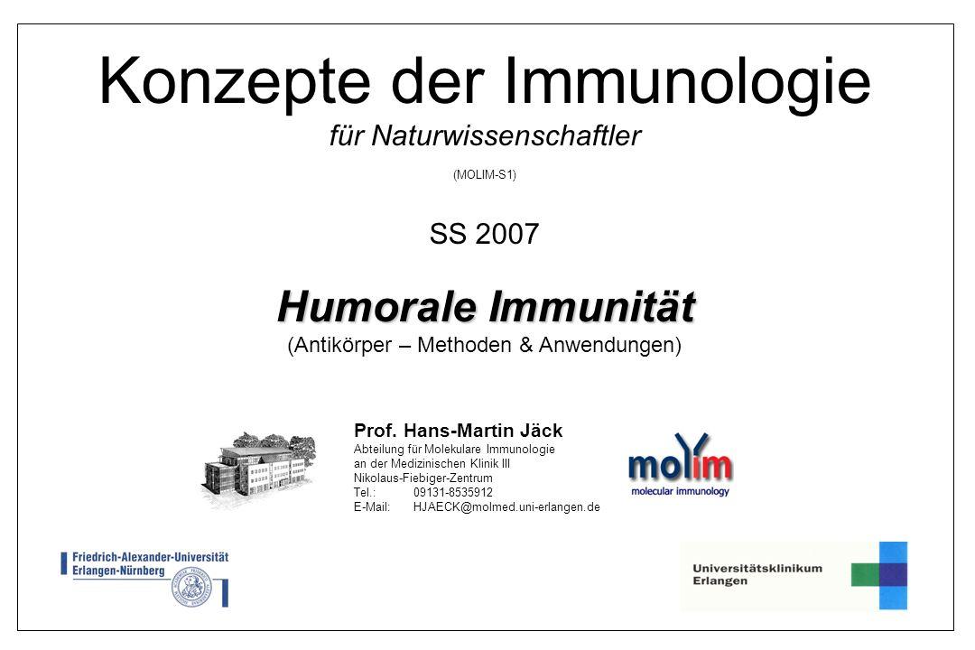 Konzepte der Immunologie