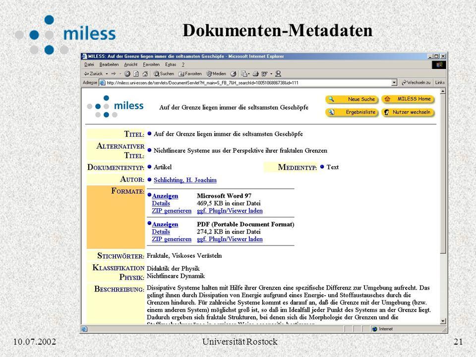 Dokumenten-Metadaten