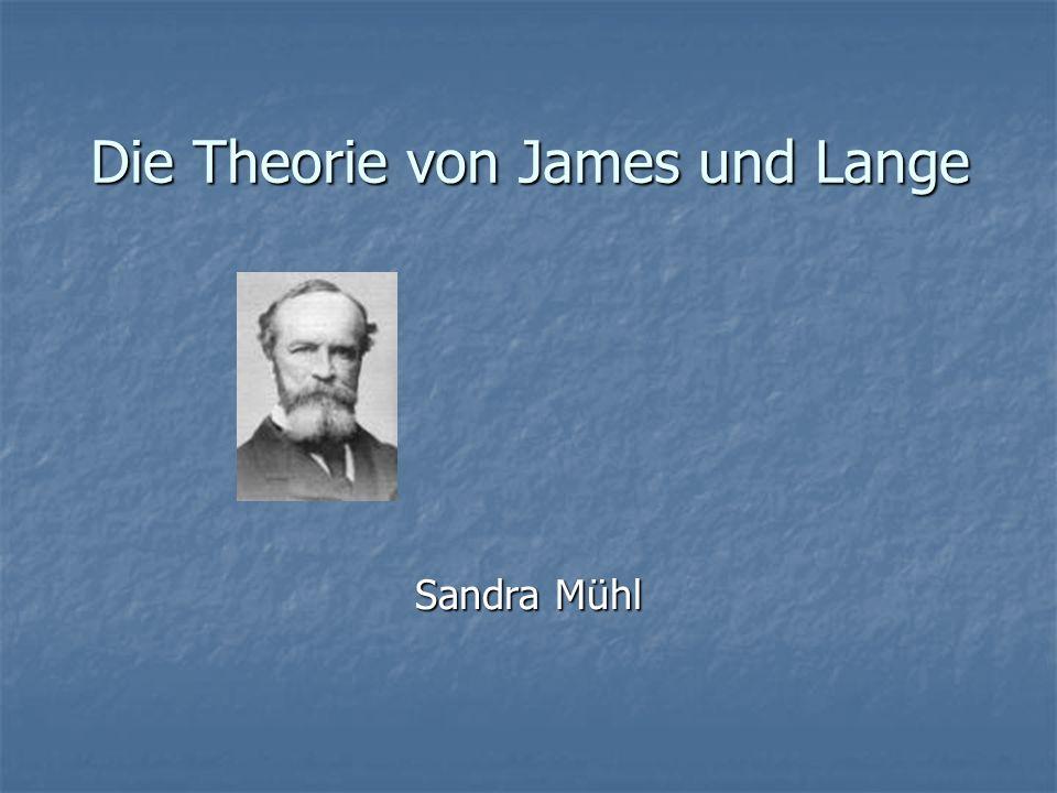 Die Theorie von James und Lange
