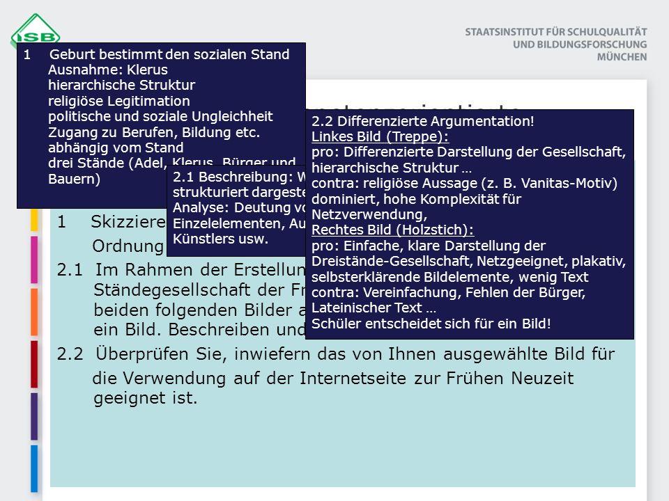 Beispiel für eine kompetenzorientierte Prüfungsaufgabe in 11/1