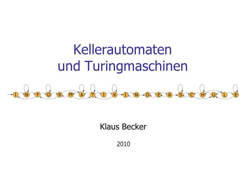 Kellerautomaten und Turingmaschinen
