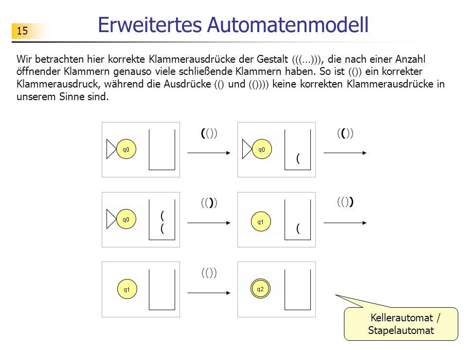 Erweitertes Automatenmodell