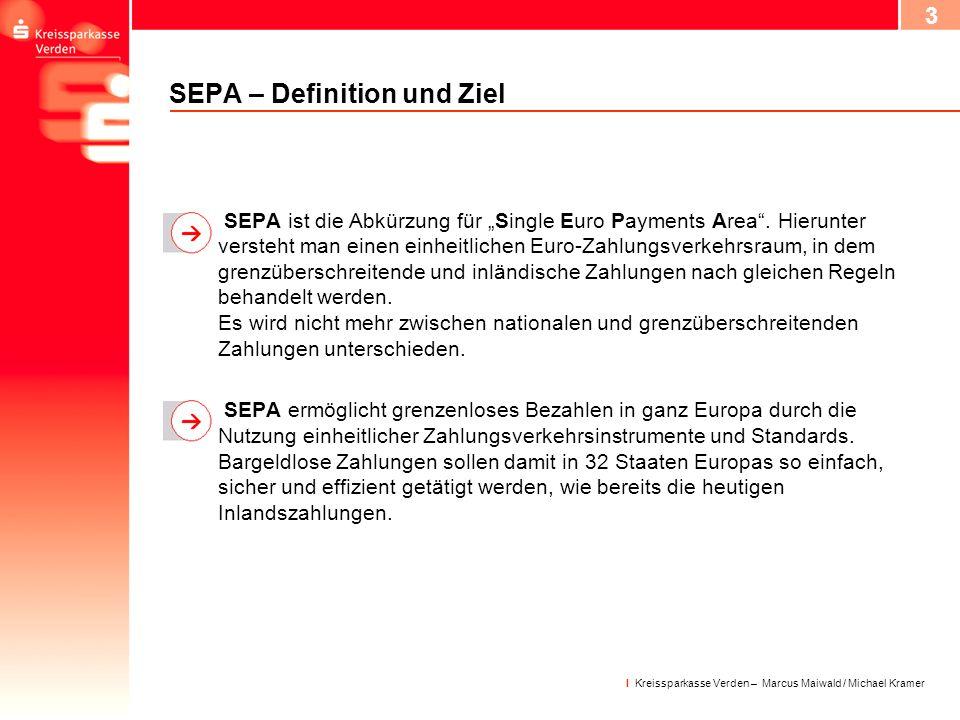 SEPA – Definition und Ziel