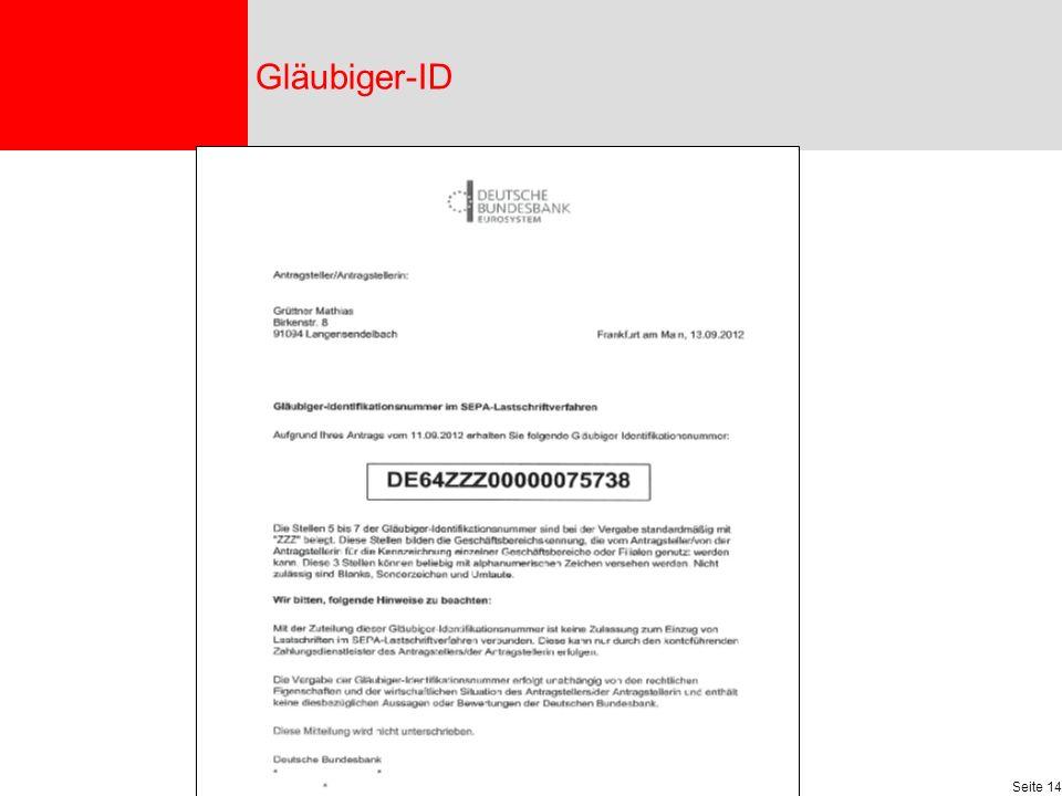 Gläubiger-ID
