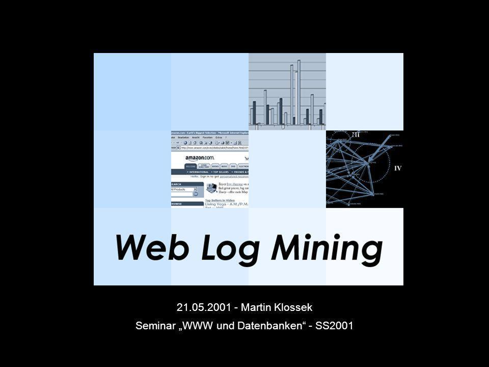 """Seminar """"WWW und Datenbanken - SS2001"""