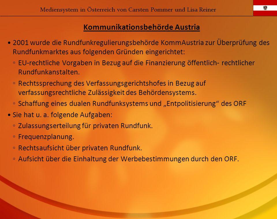 Kommunikationsbehörde Austria
