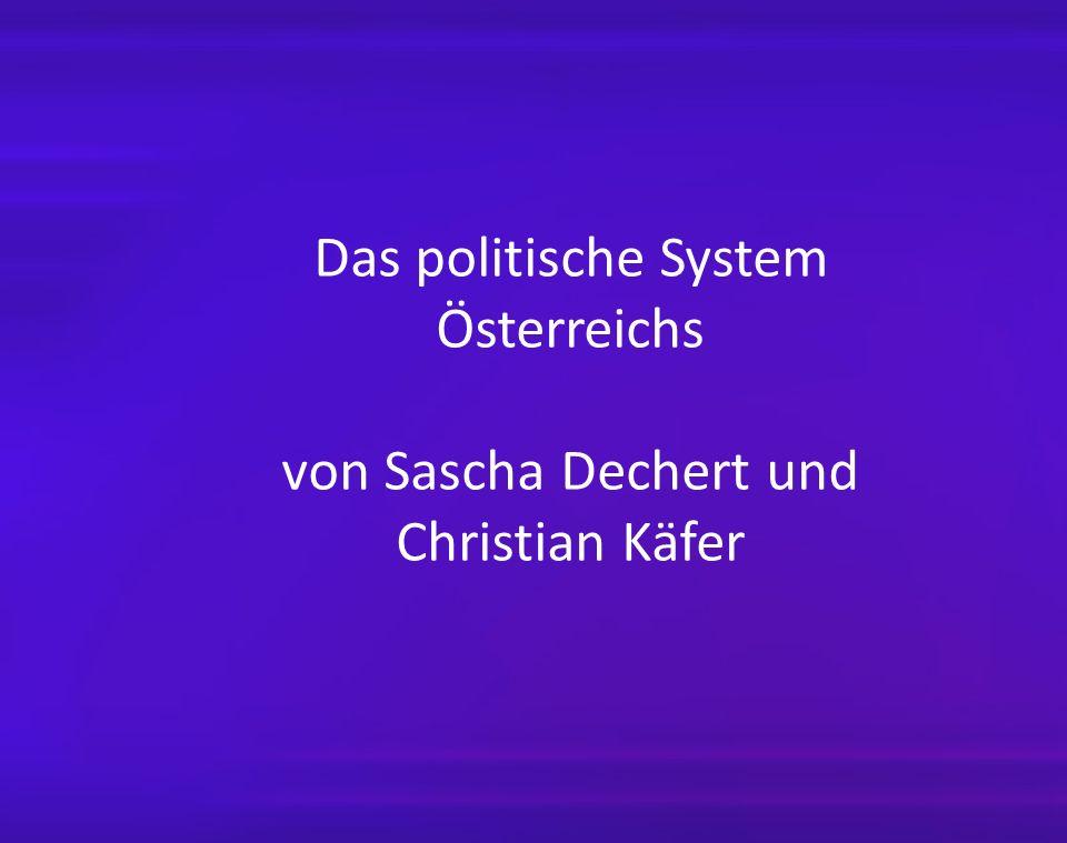 Das politische System Österreichs