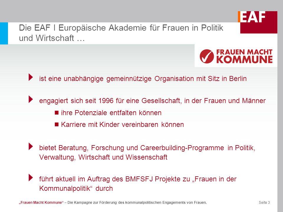 Die EAF I Europäische Akademie für Frauen in Politik und Wirtschaft …