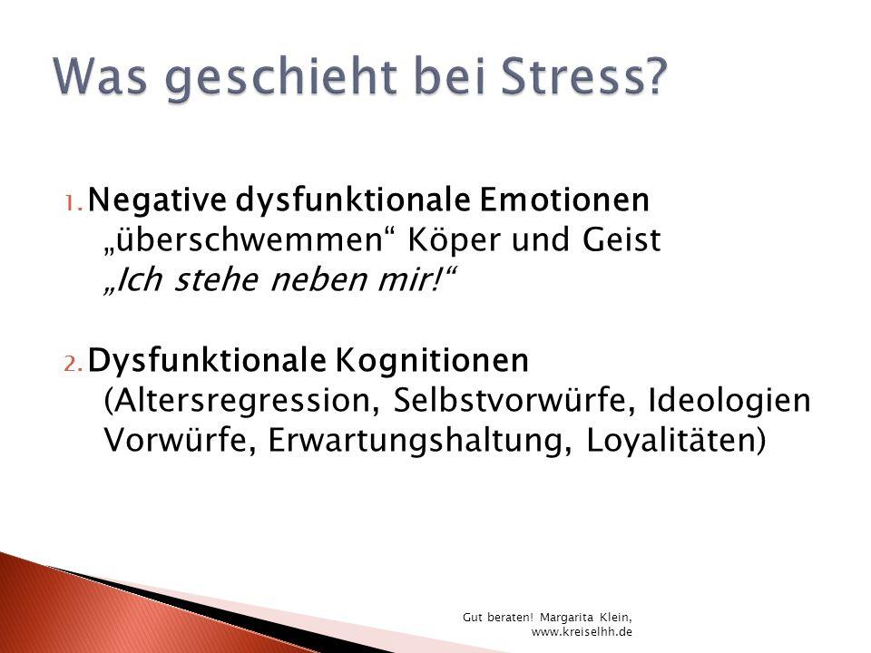 Was geschieht bei Stress