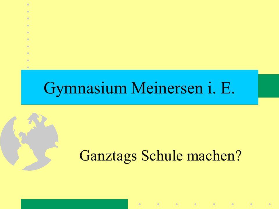 Gymnasium Meinersen i. E.