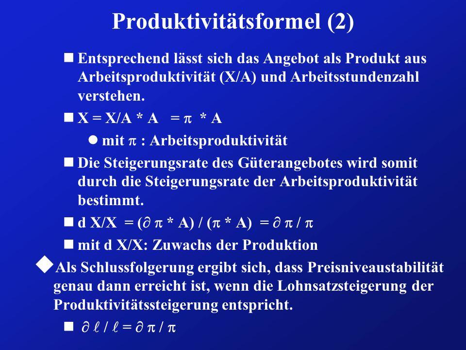 Produktivitätsformel (2)