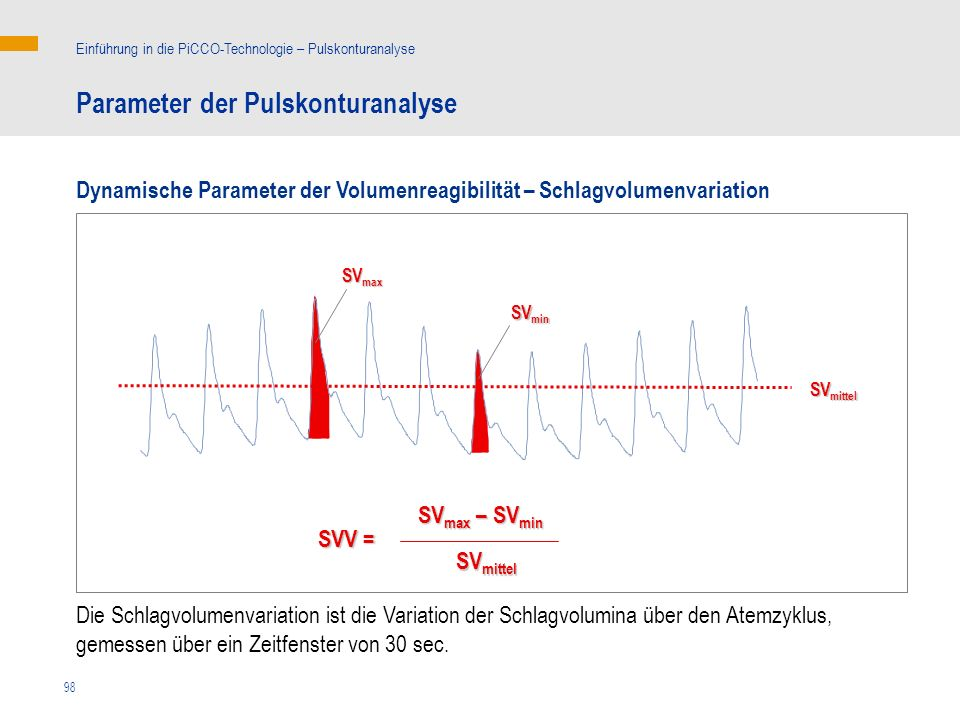 Parameter der Pulskonturanalyse