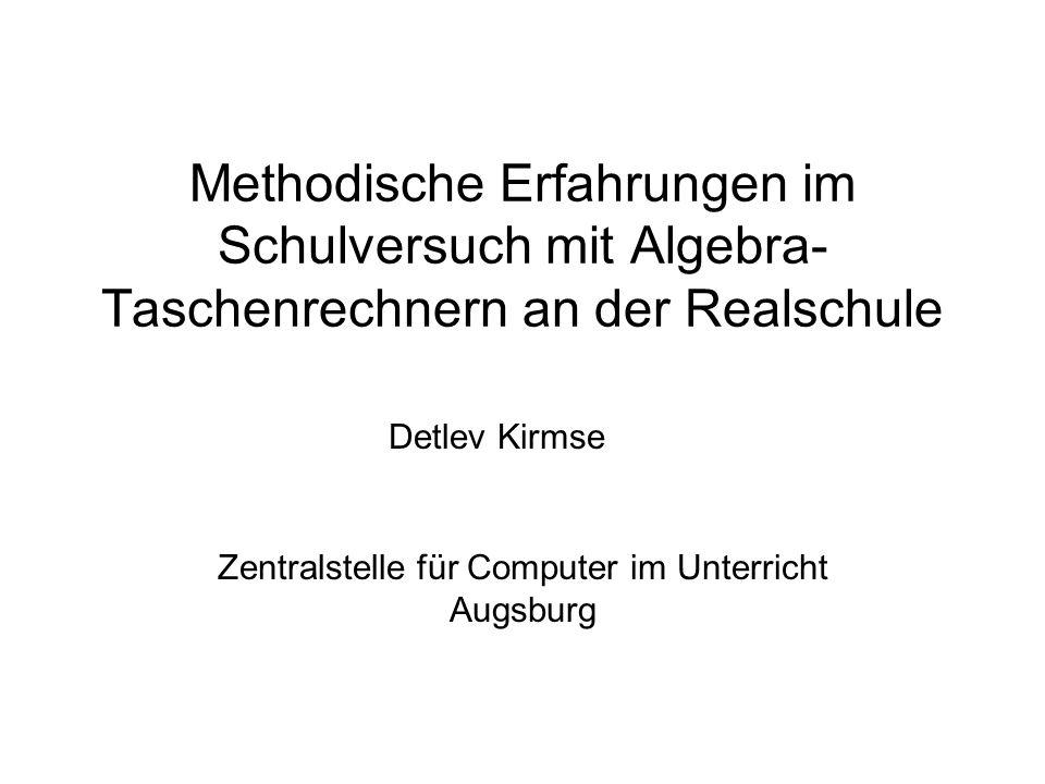 Zentralstelle für Computer im Unterricht Augsburg