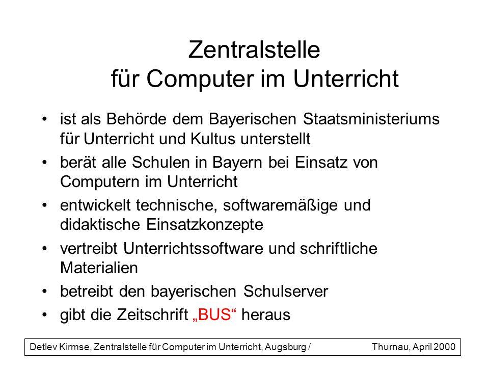 Zentralstelle für Computer im Unterricht