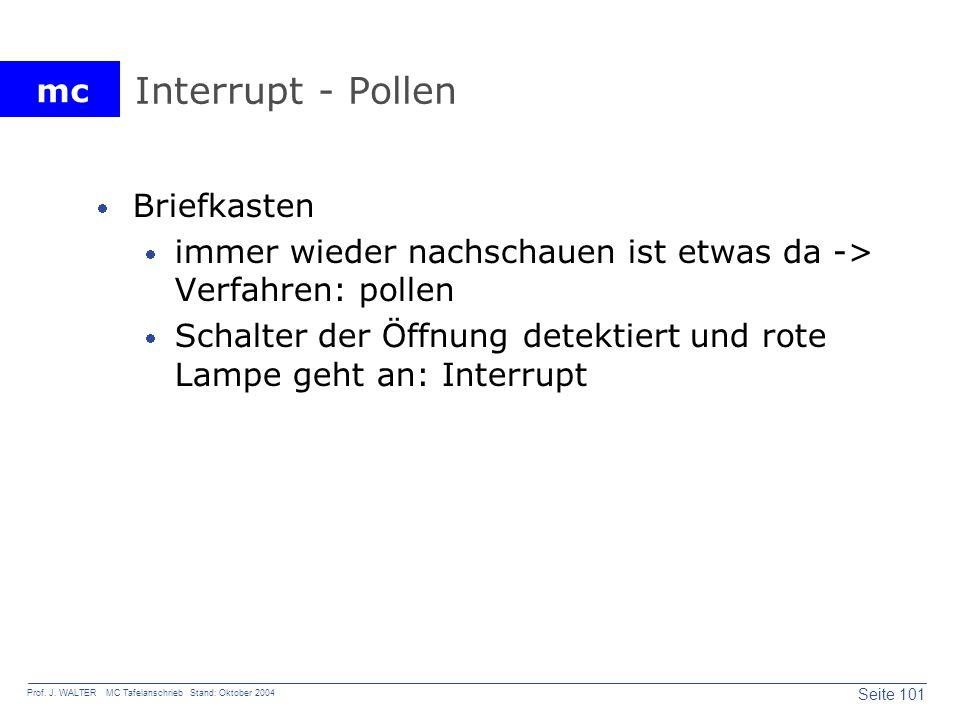 Interrupt - Pollen Briefkasten