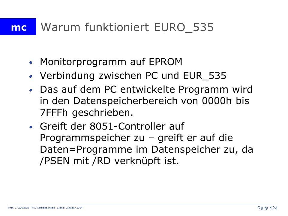 Warum funktioniert EURO_535