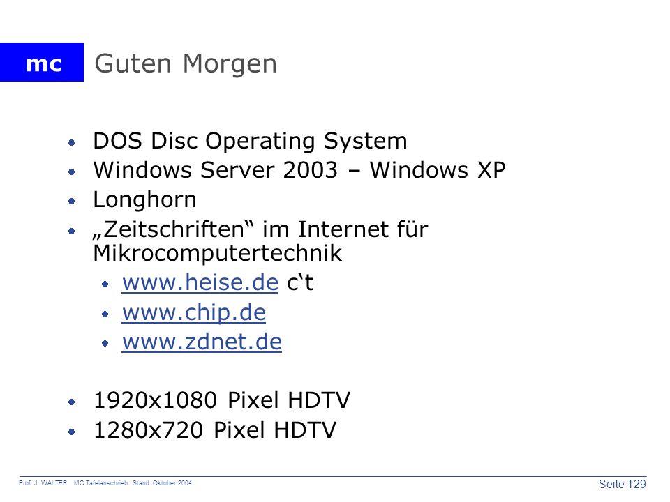 Guten Morgen DOS Disc Operating System
