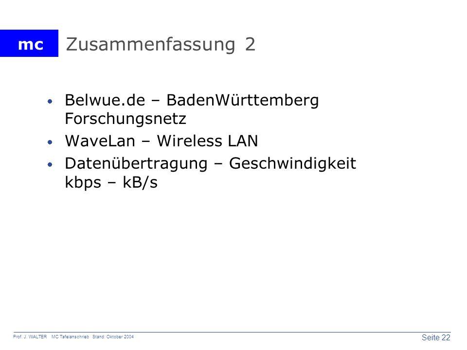 Zusammenfassung 2 Belwue.de – BadenWürttemberg Forschungsnetz