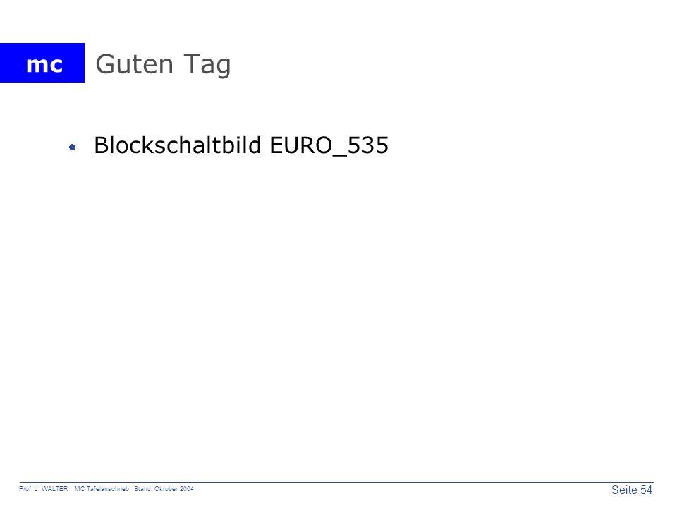 Guten Tag Blockschaltbild EURO_535
