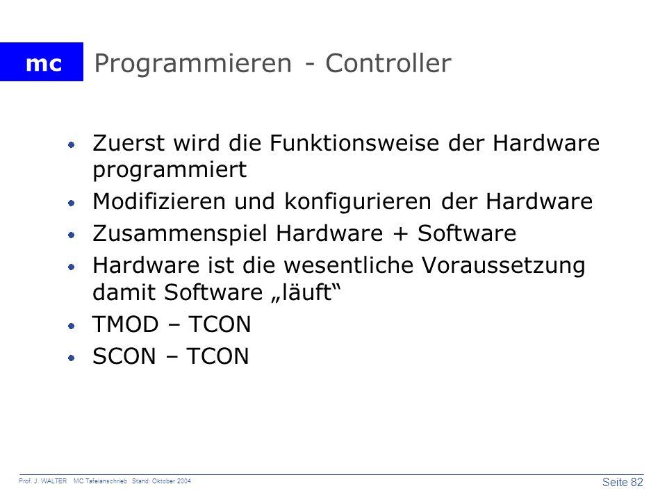Programmieren - Controller